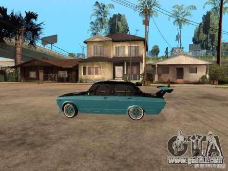 Lada Vaz 2107 Drift for GTA San Andreas left view