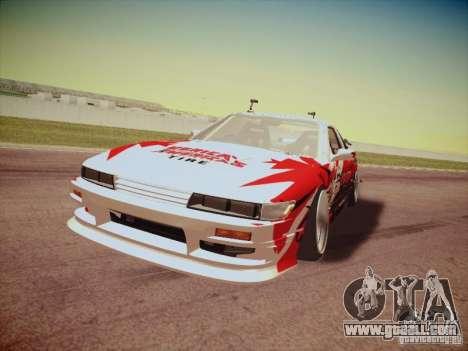 Nissan Silvia S13 Daijiro Yoshihara for GTA San Andreas left view