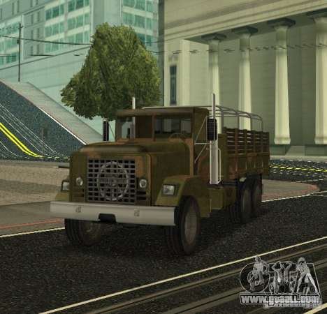 Sand Barracks HD for GTA San Andreas left view