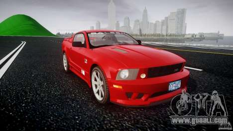 Saleen S281 Extreme - v1.2 for GTA 4 back view