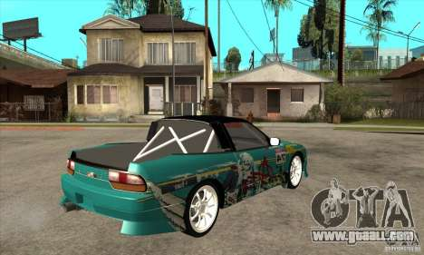 Nissan 200sx from Moscow Drift for GTA San Andreas right view
