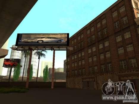New textures downtown Los Santos for GTA San Andreas fifth screenshot