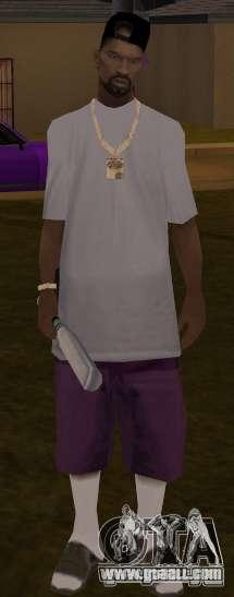 New ballas for GTA San Andreas third screenshot