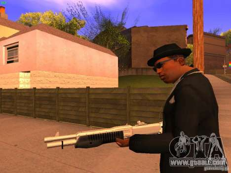 TeK Weapon Pack for GTA San Andreas sixth screenshot