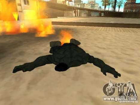 Hulk Skin for GTA San Andreas forth screenshot
