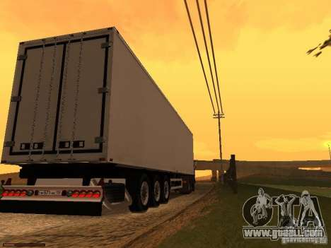 Trailer lights v3.0 for GTA San Andreas
