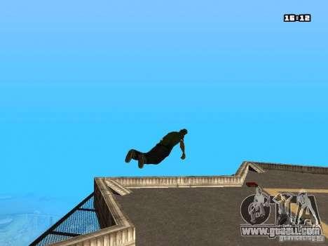 Parkour Mod for GTA San Andreas