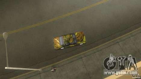 Sentinel Plato for GTA Vice City right view