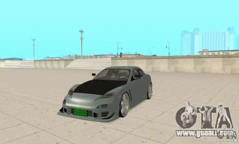 Mazda RX-8 Tuning for GTA San Andreas left view