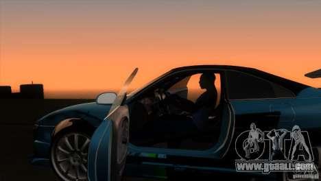 Toyota MR2 Drift for GTA San Andreas inner view