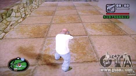 HUD by Mr.Shadow for GTA San Andreas third screenshot