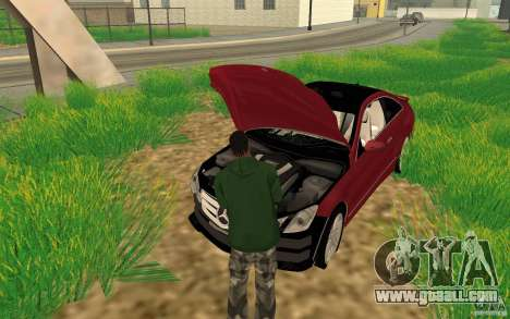 CLEO mod: CJ can repair the car for GTA San Andreas