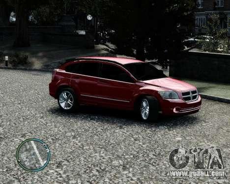 Dodge Caliber for GTA 4 interior