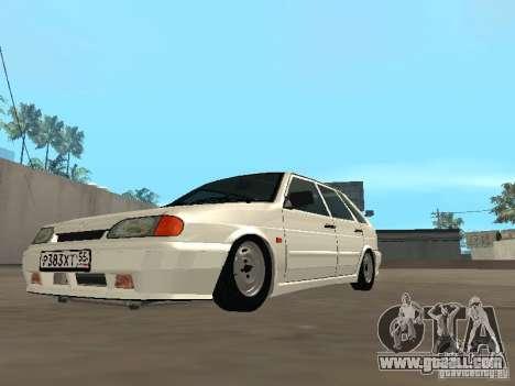 ВАЗ 2114 Drain for GTA San Andreas