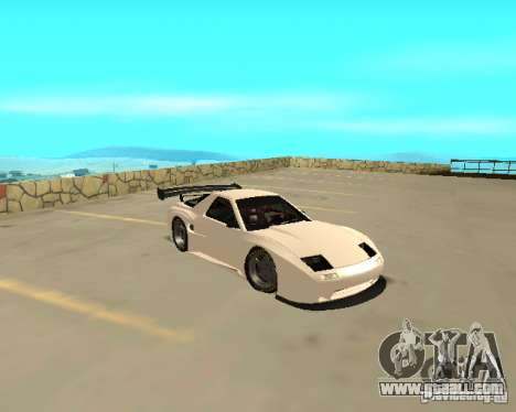 Mazda RX-7 FC - MadMike: Version.2 for GTA San Andreas back left view