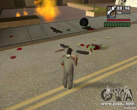 Real Ragdoll Mod Update 2011.09.15 for GTA San Andreas fifth screenshot