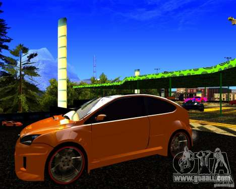 Ford Focus ST Racing Edition for GTA San Andreas