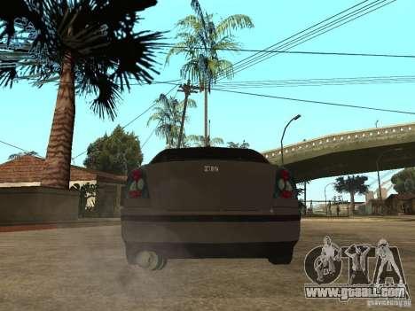 Skoda Octavia Custom Tuning for GTA San Andreas back left view