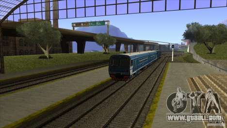 A new algorithm of train 5 for GTA San Andreas forth screenshot