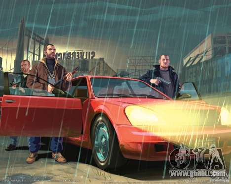 Boot images in the style of GTA IV for GTA San Andreas forth screenshot