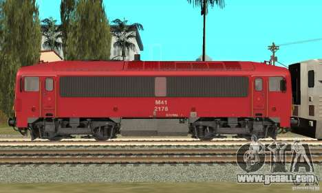 M41 Diesel Locomotive for GTA San Andreas