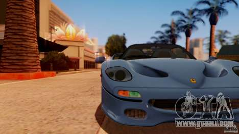 Ferrari F50 Coupe v1.0.2 for GTA San Andreas back left view