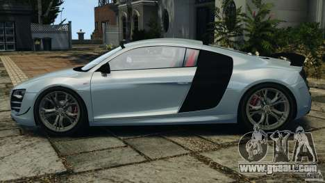 Audi R8 GT 2012 for GTA 4 left view