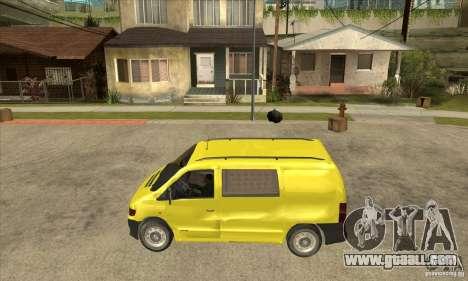 Mercedes-Benz Vito 112CDI for GTA San Andreas left view