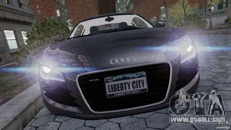 AUDI R8 for GTA 4 left view