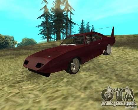 Dodge Charger Daytona for GTA San Andreas