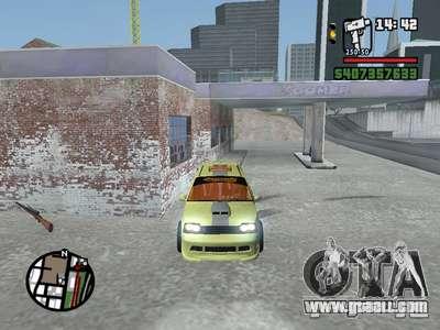 1111 OKA (tuning) for GTA San Andreas inner view