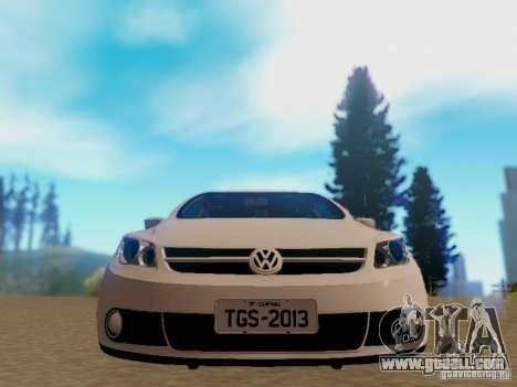 Volkswagen Voyage G5 Roda Passat CC for GTA San Andreas back left view