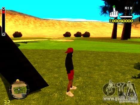 Skin bum v1 for GTA San Andreas second screenshot
