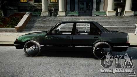 Chevrolet Monza GLS 96 for GTA 4 left view