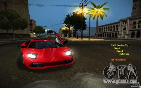 ENB Black Edition for GTA San Andreas