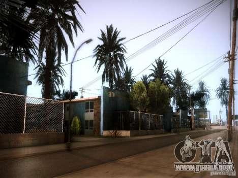 New trees HD for GTA San Andreas forth screenshot