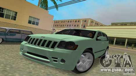 Jeep Grand Cherokee for GTA Vice City back left view