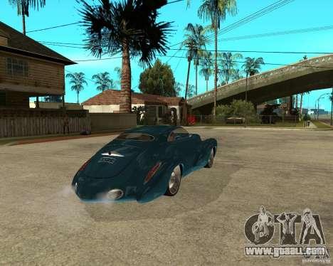 Holden Efijy for GTA San Andreas back left view