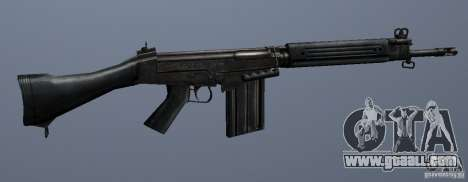 FN FAL for GTA San Andreas third screenshot
