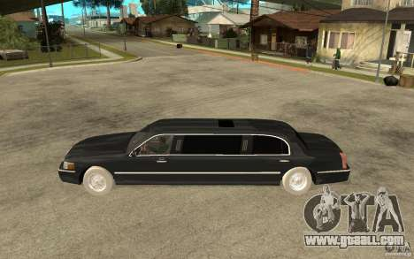 Lincoln Towncar limo 2003 for GTA San Andreas left view