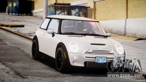 Mini Cooper S 2003 v1.2 for GTA 4 back view
