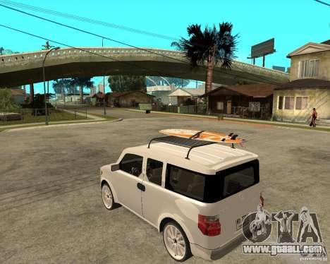 Honda Element for GTA San Andreas left view