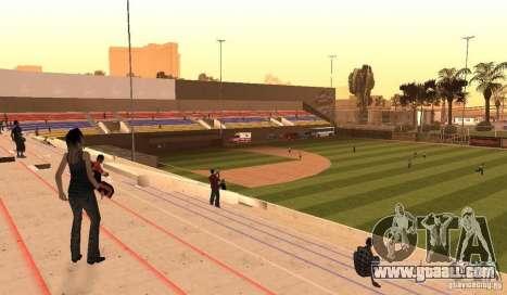 Animated Baseball Field for GTA San Andreas second screenshot