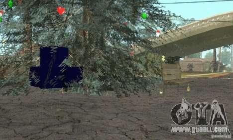 Christmas tree for GTA San Andreas third screenshot