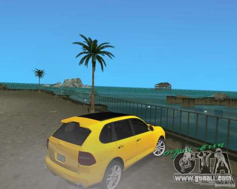 2009 Porsche Cayenne Turbo for GTA Vice City right view