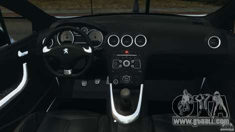 Peugeot 308 GTi 2011 v1.1 for GTA 4 back view