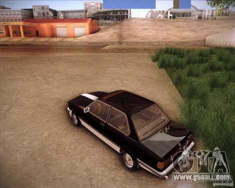BMW E21 for GTA San Andreas back left view