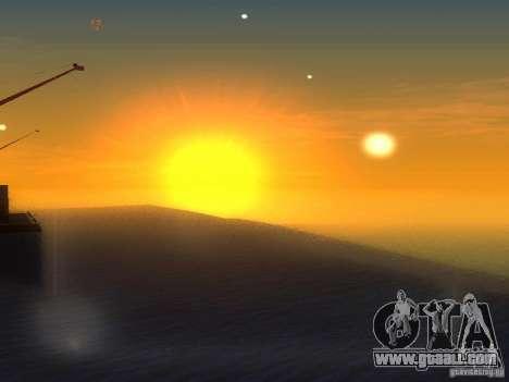 HQ Water for GTA San Andreas third screenshot