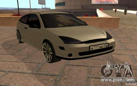 Ford Focus Light Tuning for GTA San Andreas left view