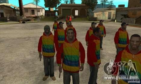 Rider-Playboy X for GTA San Andreas third screenshot